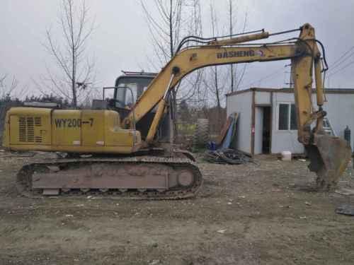四川出售转让二手12000小时2010年大信重工DS150LC挖掘机