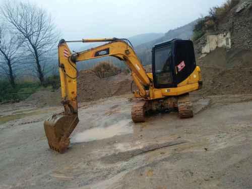 安徽出售转让二手6500小时2012年福田雷沃FR65挖掘机