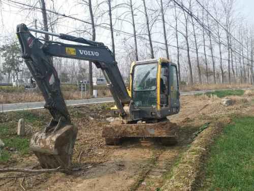 江苏出售转让二手9735小时2012年沃尔沃EC55B挖掘机