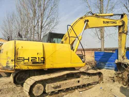 河南出售转让二手5129小时2011年住友SH210挖掘机