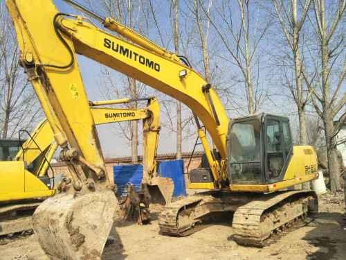 河南出售转让二手6484小时2011年住友SH210挖掘机