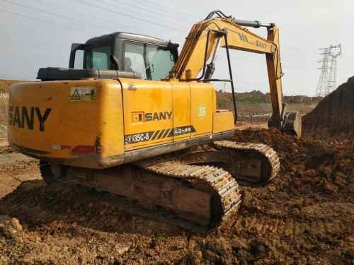湖北出售转让二手2400小时2013年三一重工SY135C挖掘机