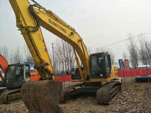 河南出售转让二手2140小时2014年住友SH240挖掘机