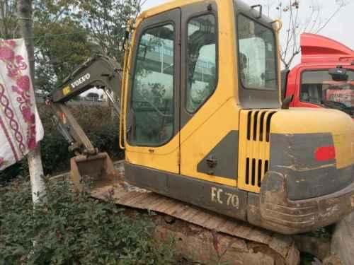 江苏出售转让二手10000小时2009年沃尔沃EC55B挖掘机