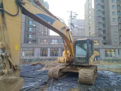 山东出售转让二手15000小时2004年卡特彼勒320C挖掘机