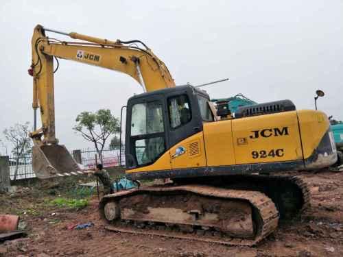 四川出售转让二手2500小时2011年山重建机JCM921C挖掘机