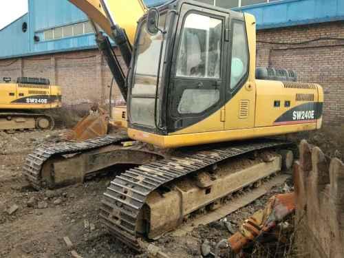 山西出售转让二手4000小时2011年彭浦SW240E挖掘机