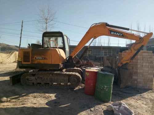 山西出售转让二手3500小时2009年愚公机械WY70挖掘机