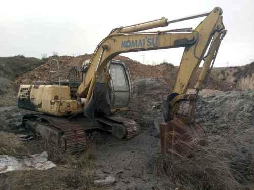山西出售转让二手5000小时2008年福临机械WY150挖掘机