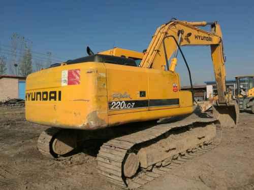 山西出售转让二手6300小时2006年现代R225LC挖掘机