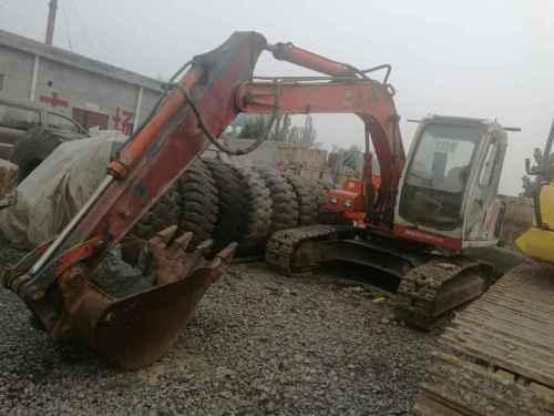 山西出售转让二手5000小时2008年恒特重工HT120A挖掘机