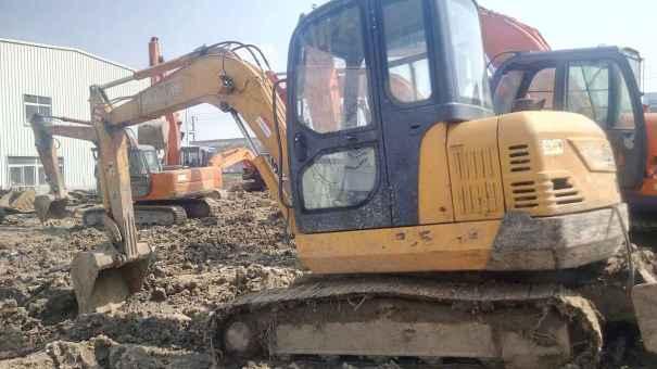安徽出售转让二手7000小时2011年福田雷沃FR65挖掘机