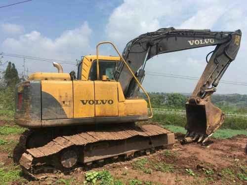 四川出售转让二手10000小时2011年沃尔沃EC140BLC挖掘机
