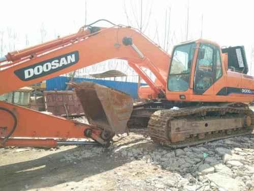 天津出售转让二手4380小时2010年斗山DH300LC挖掘机