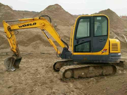 宁夏出售转让二手4000小时2013年沃得重工W265挖掘机