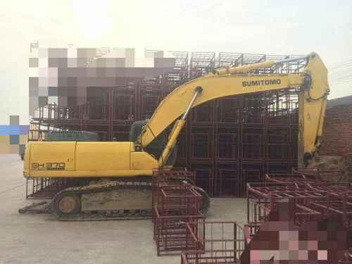 山东出售转让二手12483小时2009年住友SH350HD挖掘机