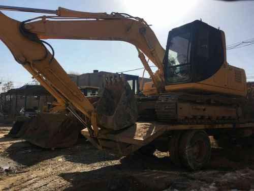 宁夏出售转让二手3000小时2011年柳工CLG915D挖掘机