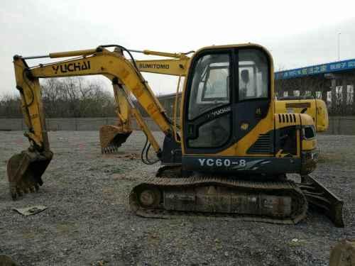 河北出售转让二手3200小时2013年玉柴YC60挖掘机