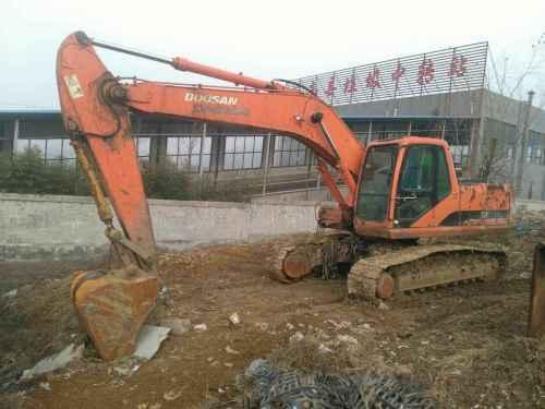 山东出售转让二手12000小时2007年斗山DH220LC挖掘机