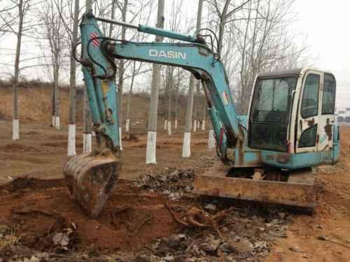 山西出售转让二手4800小时2007年大信重工DS60挖掘机