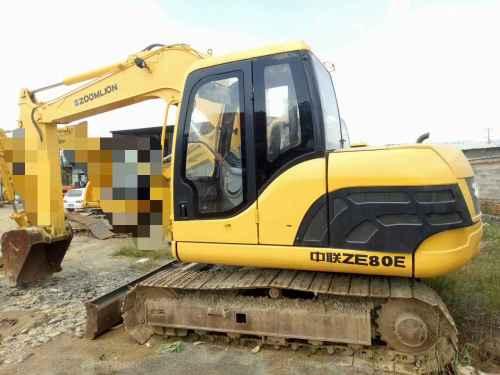 云南出售转让二手1890小时2010年中联重科ZE80E挖掘机