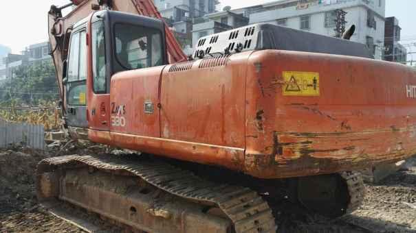 广东出售转让二手13000小时2004年日立ZX330挖掘机