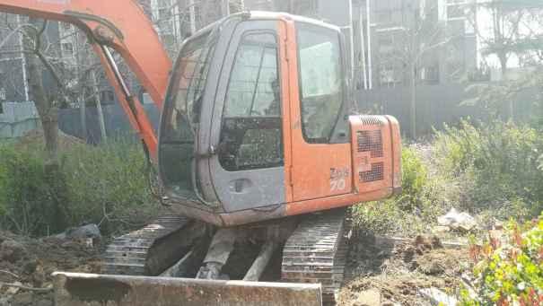 山东出售转让二手12000小时2008年日立ZX60挖掘机