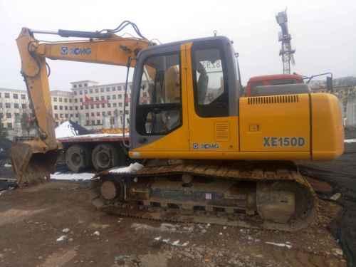 甘肃出售转让二手4000小时2012年徐工XE150D挖掘机
