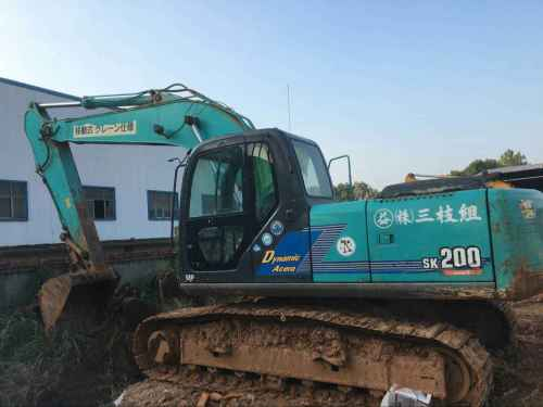 江西出售转让二手3428小时2005年神钢SK200挖掘机