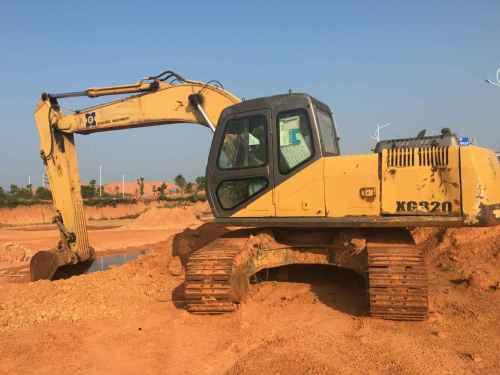 江西出售转让二手8560小时2007年厦工XG820挖掘机