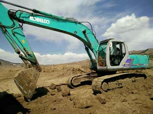河北出售转让二手13400小时2005年神钢SK250LC挖掘机