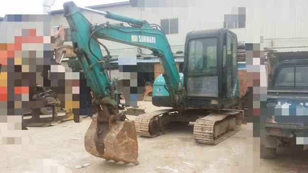 广西出售转让二手8000小时2006年山河智能SWE50挖掘机