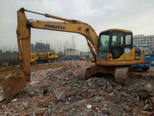 安徽出售转让二手8500小时2012年小松PC130挖掘机