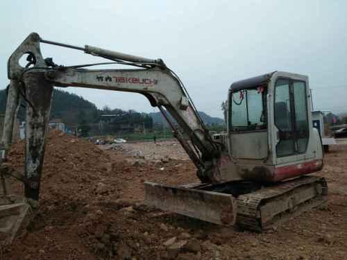 四川出售转让二手5600小时2012年竹内TB160C挖掘机