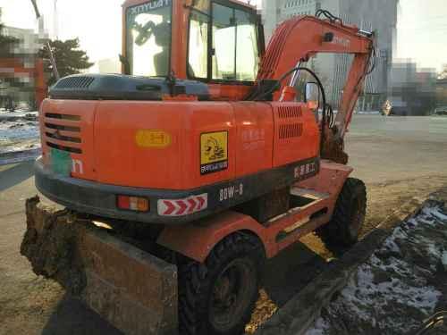 辽宁出售转让二手1500小时2015年新源机械XY80挖掘机