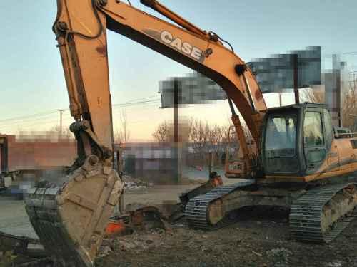 辽宁出售转让二手13000小时2008年凯斯CX240B挖掘机