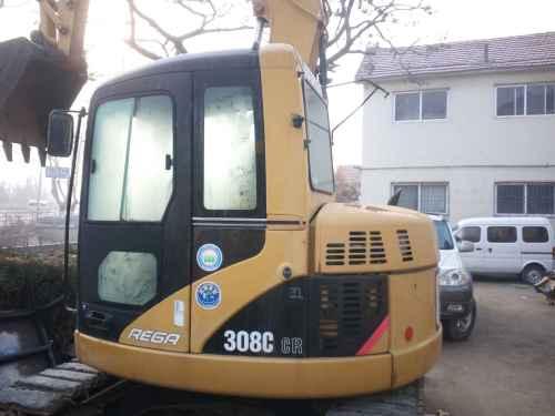 山东出售转让二手4100小时2010年卡特彼勒308CCR挖掘机