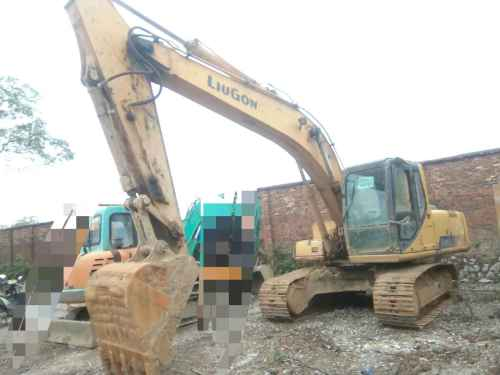 贵州出售转让二手12900小时2009年柳工205C挖掘机