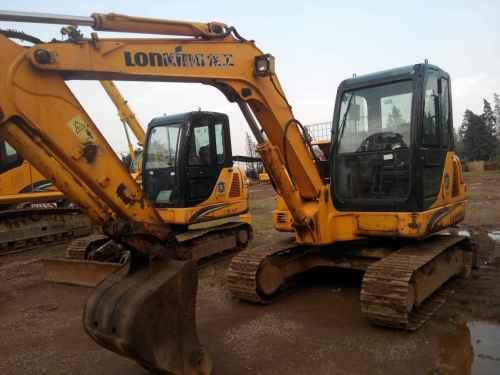 云南出售转让二手5000小时2013年龙工LG6060挖掘机