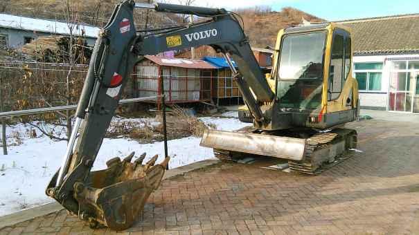 辽宁出售转让二手10710小时2008年沃尔沃EC55B挖掘机
