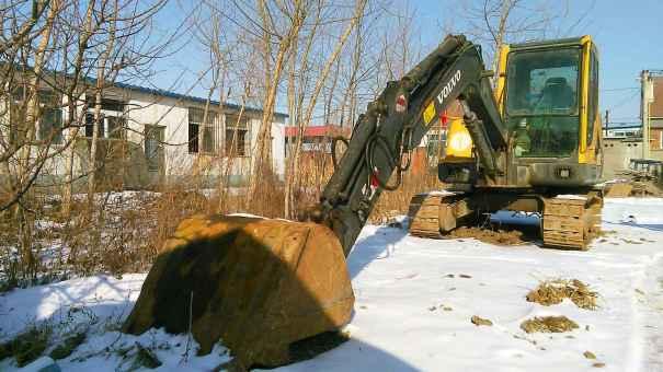 辽宁出售转让二手10610小时2008年沃尔沃EC55B挖掘机