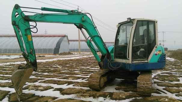辽宁出售转让二手12000小时2008年石川岛60N挖掘机