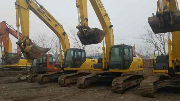 天津出售转让二手5178小时2010年住友SH240挖掘机