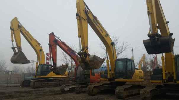 天津出售转让二手7056小时2010年住友SH240挖掘机