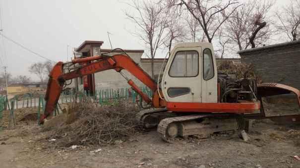 河北出售转让二手9600小时2007年福临机械WY60挖掘机