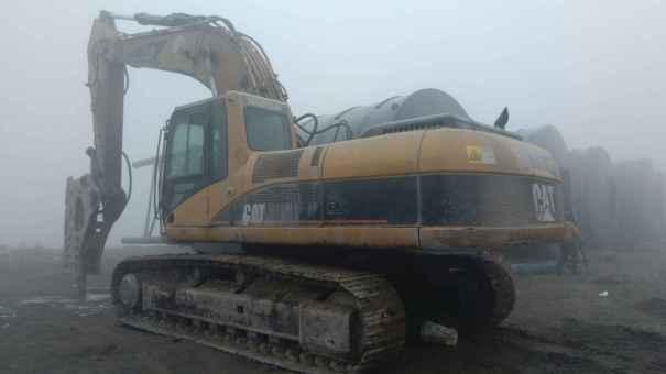 山东出售转让二手10000小时2004年卡特彼勒330C挖掘机