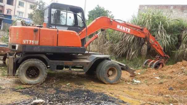 广西出售转让二手4000小时2013年南特NT80挖掘机