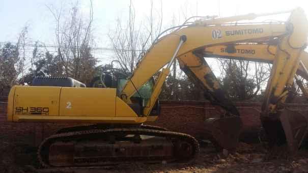 河南出售转让二手2106小时2012年住友SH360HD挖掘机
