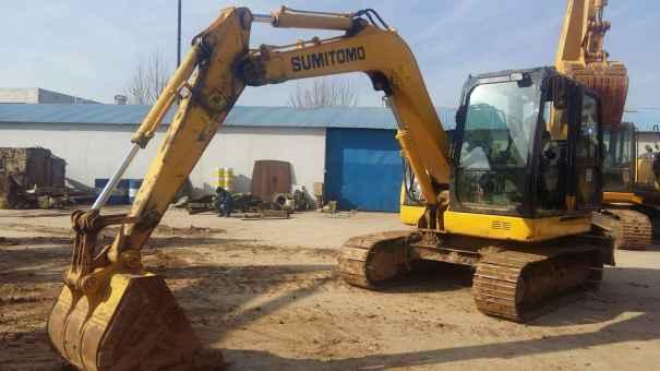 河南出售转让二手1841小时2014年住友SH80挖掘机