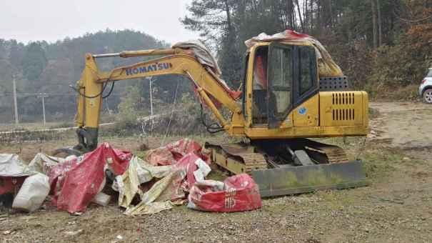 贵州出售转让二手4500小时2010年巨超重工JC60挖掘机